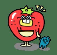 Cheerful Vegetables Village sticker #1897520