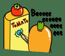 Cheerful Vegetables Village sticker #1897523