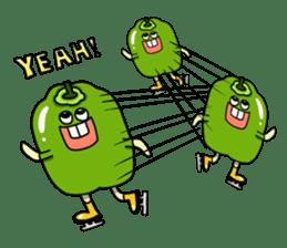 Cheerful Vegetables Village sticker #1897524