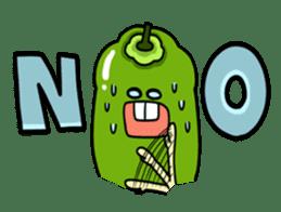 Cheerful Vegetables Village sticker #1897527