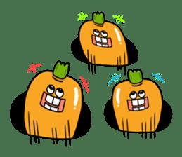 Cheerful Vegetables Village sticker #1897529