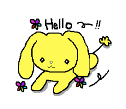 A Cute Dog With Long Ears sticker #1900621