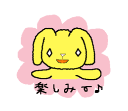 A Cute Dog With Long Ears sticker #1900648