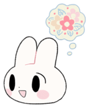 The Princess of Rabbit with One Ear sticker #1901580