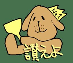 Ennui Dog sticker #1906483