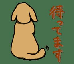 Ennui Dog sticker #1906499
