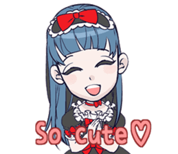 Goth-Loli Punk [ENG] sticker #1906559