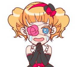 Goth-Loli Punk [ENG] sticker #1906574
