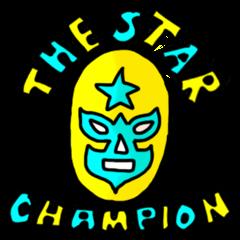 MASK WRESTLER THE STAR !