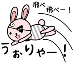 Eye patch Bunnies EL & RL sticker #1907391