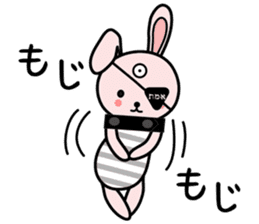 Eye patch Bunnies EL & RL sticker #1907395