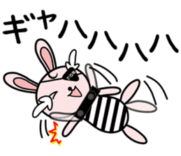 Eye patch Bunnies EL & RL sticker #1907407