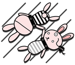 Eye patch Bunnies EL & RL sticker #1907419