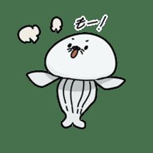 jellyfish such as animal sticker #1908743