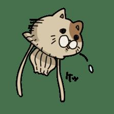 jellyfish such as animal sticker #1908747