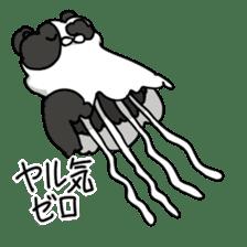 jellyfish such as animal sticker #1908754