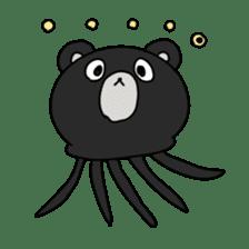 jellyfish such as animal sticker #1908756