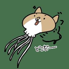 jellyfish such as animal sticker #1908771