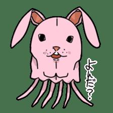 jellyfish such as animal sticker #1908779