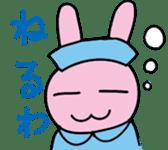 rabbitnurse sticker #1909461