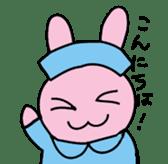 rabbitnurse sticker #1909462