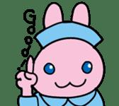 rabbitnurse sticker #1909466