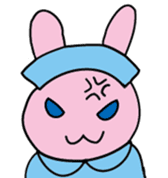 rabbitnurse sticker #1909467