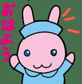rabbitnurse sticker #1909476