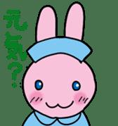 rabbitnurse sticker #1909480