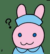 rabbitnurse sticker #1909484