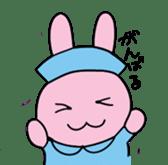 rabbitnurse sticker #1909485