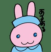 rabbitnurse sticker #1909486