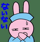 rabbitnurse sticker #1909487