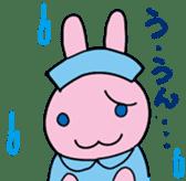 rabbitnurse sticker #1909489