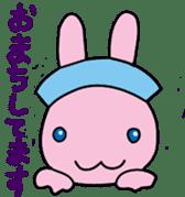 rabbitnurse sticker #1909491