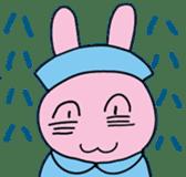 rabbitnurse sticker #1909495