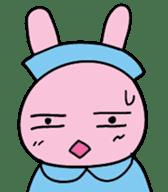 rabbitnurse sticker #1909496