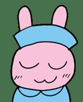 rabbitnurse sticker #1909499