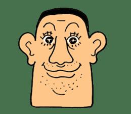 chunky guy sticker #1913421