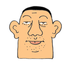 chunky guy sticker #1913441