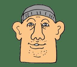chunky guy sticker #1913446