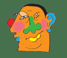 chunky guy sticker #1913448