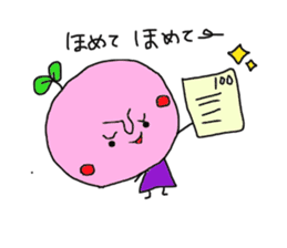 cute cherry sticker #1913944