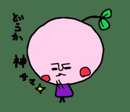 cute cherry sticker #1913946