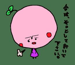 cute cherry sticker #1913974