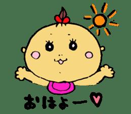 a-chan days sticker #1914101