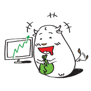 สติ๊กเกอร์ไลน์ Bull & Bear Investor