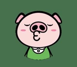 A strange pig sticker #1915548