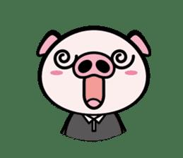 A strange pig sticker #1915549