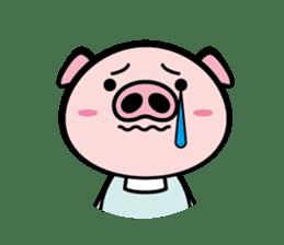 A strange pig sticker #1915555